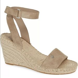 Tory Burch Sandals BIMA Espadrille Wedge Sandals